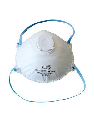 DESABAG Einweg-Atemschutzmaske FFP2 mit Ausatemventil