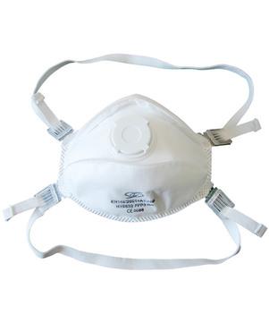 DESABAG Einweg-Atemschutzmaske FFP3 mit Ausatemventil