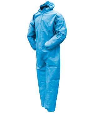 DESABAG Einwegschutzanzug Gr. XL Kategorie 3 Typ 5 + 6 Standard Blau