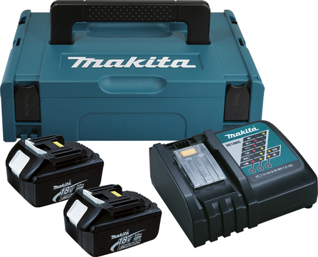 Makita Power Source Kit 196693-0 3Ah DC18RC+2xBL1830 im Makpac 1