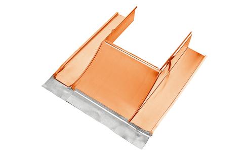 Grömo Kaminverwahrung Unterteil Gr. 2 50- 90 cm Kupfer