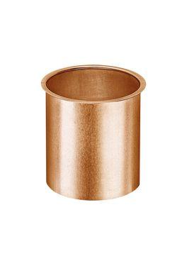 Grömo 12-teilige Rinnenstutzen Kasten 50 mm zum Löten zum Löten für Kastenrinne Kupfer