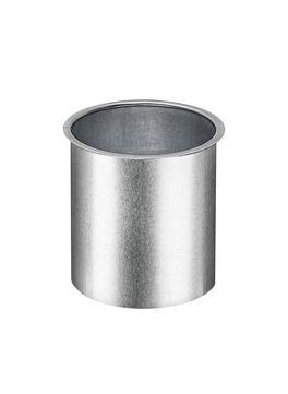 Grömo 10-teilig Rinnenstutzen Kasten 60 mm zum Löten für Kastenrinne Titanzink