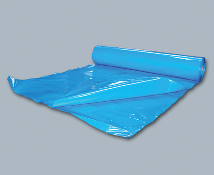 Bachl PE-Dampfsperre 0,25 mm 50/2 m B2 Dampfbremsfolie Blau