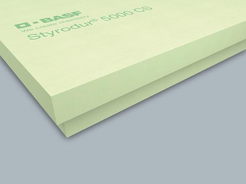 Bachl Styrodur-5000CS 100 mm mit Falz Hartschaumplatte 1265x615 mm WLS 038