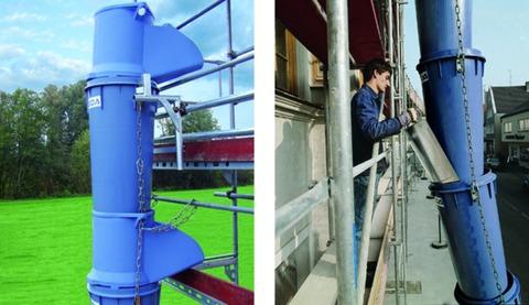 Geda-Dechentreiter Rutschenabzweig 1,10 m hochschlagfester Kunststoff