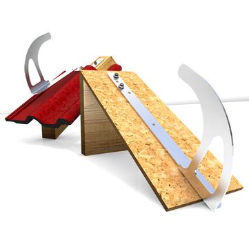 ABS Safety Lock DH04-VA-F flach Edelstahl V2A