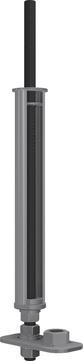 ABS Safety Unterkonstrukion für abgehängte Decken bis 500 mm bauaufsichtliche Zulassung Edelstahl V2A