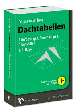 Müller Buch Dachtabellen mit CD-ROM 4.auflage 2017