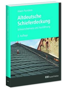 Müller Buch altdeutsche Schieferdeckung Deckung 3.auflage 2018
