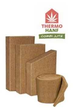THERMO NATUR Thermo Hanf CombiJute 180 mm Mattenware 1200x625 mm