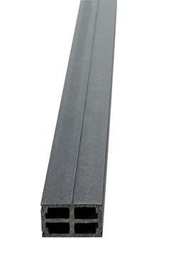 NATURinFORM Basisprofil WPC 40x60 mm 4 m zum Klicken Anthrazit