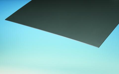 ThyssenKrupp Plastics Schichtstoffplatte 3050x1300x6 mm OWOPLAN HPL CE zweiseitig Dekor Anthrazit