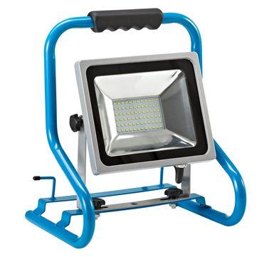 Hedi LED-Strahler Comfort 30 Watt HS30LED, stabiles Tragegestell Blauschwarz