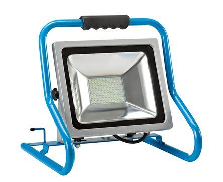 Hedi LED-Strahler Comfort 50 Watt HS50LED, stabiles Tragegestell Blauschwarz