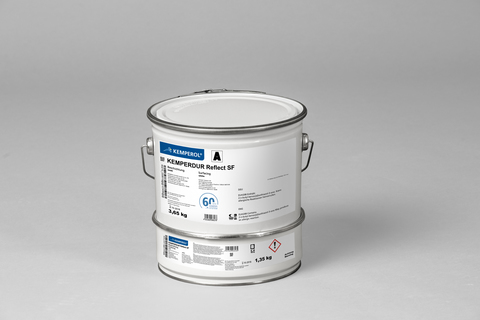 KEMPER KEMPERDUR Reflect SF 5,0 kg Abdichtung Komponente A + B Weiß
