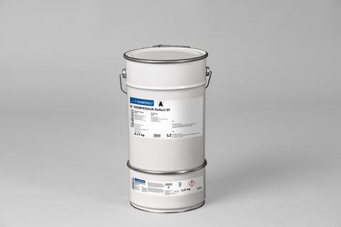 KEMPER KEMPERDUR Reflect SF 12,5 kg Abdichtung Arbeitspack Komponente A + B Weiß