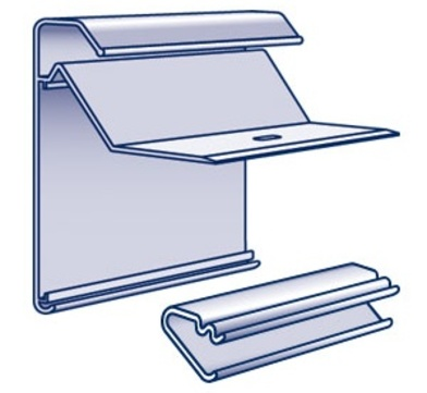 Polybit Baumetall Dachrand Combi 150 Profil komplett inkl. 2 Klemmhalter pro Meter, 1 Verbinder Aluminium