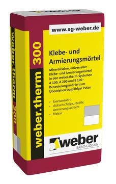 Saint-Gobain Weber weber.Therm 300 30 kg mineralischer Klebe-/Armierungsmörtel Grau