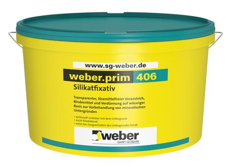 Saint-Gobain Weber weber. prim 406 15 l lösemittelfreier Voranstrich Transparent