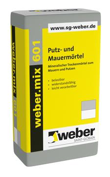 Saint-Gobain Weber weber. mix 601 40,0 kg Putz- und Mauermörtel