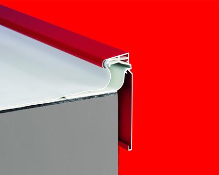 alwitra Dachrand T100-plus Profil Folien/Bitumenanschluss