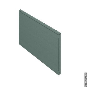 RHEINZINK Großraute 0,80x333x 600 mm prePatina fol. Titanzink prePATINA schiefergrau