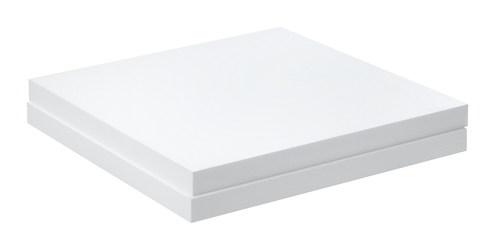 IsoBouw DAA dh EPS 60x1000x1000 mm 150 kPa Flachdachdämmplatte 985x 985 mm mit Falz WLS 035