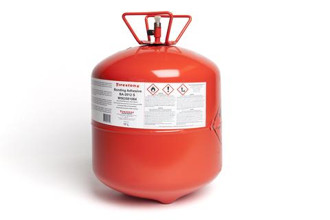 Firestone Bonding Adhesive BA-2012 S 17 l Sprühkleber im Druckbehälter Gelb