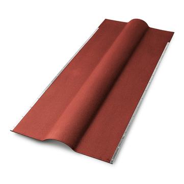 Scobalitwerk Gutta Firsthaube Länge 1060 mm Stärke 2,20 mm Rot