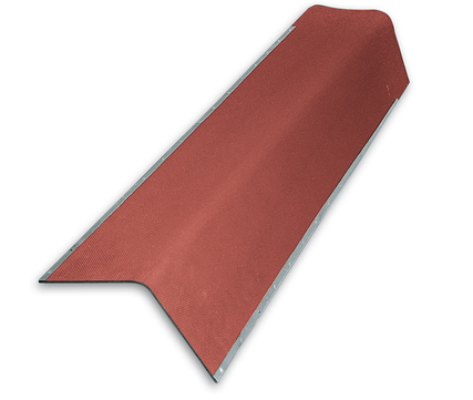 Scobalitwerk Gutta Giebelwinkel Länge 1060 mm Stärke 2,20 mm Rot