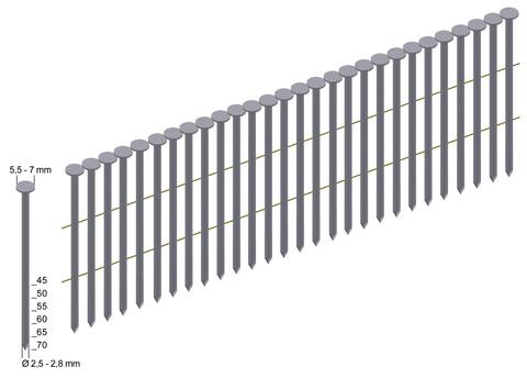 PREBENA Coilnagel CNW28/65BK 6000St/Pak