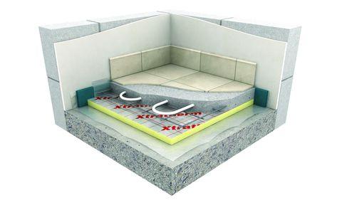 Unilin Dämmplatte Alu UF 25 mm 1200x600 mm Fußboden WLS 023