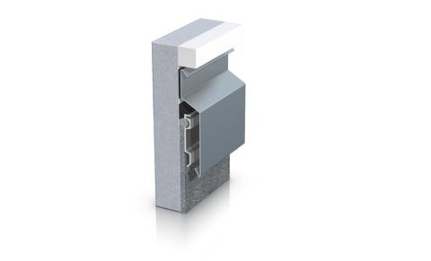 ST Extruded Wandanschluss AN60 flexibel Ecke ohne Aluminium