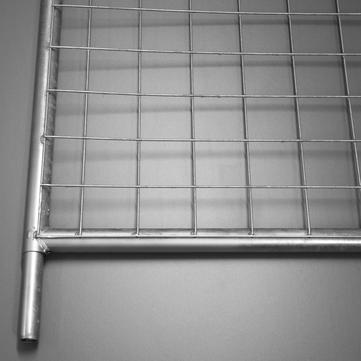 OVERHOFF Dachschutzwand Gitter DASTA-F Feuerverzinkt