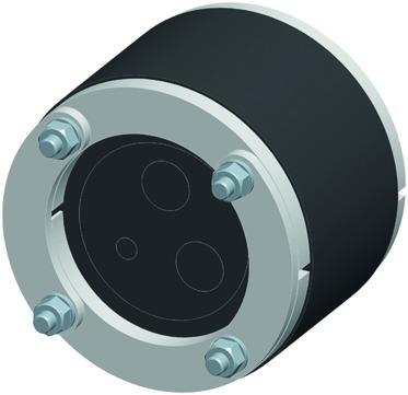 ACO Passavant Kabeldurchführung DN100 0150.58.65 mit Wechseleinsatz 1x7/2x16 mm
