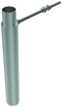 ACO Passavant Führungsrohr/Verlängerung Set DN100 0178.12.79 zu Einbauset Powerlift