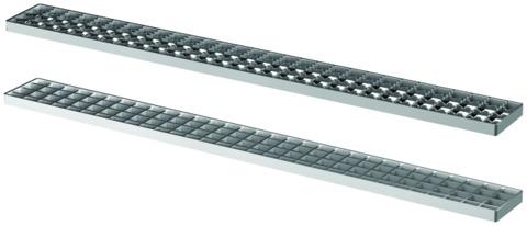 ACO Passavant Gitterrost 110x500 mm M125 9305.15.05 für ACO Variant CR Rinne Kasten rutschhemmend Edelstahl 1.4301