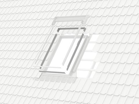 VELUX Einbauzubehör ELX MK12 78x180 cm 0000 Eindeckung Anpassungsset älterer für Aluminium