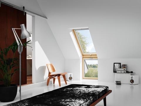 VELUX Fenster-Zusatzelement unten VFE UK31 3160 134x60 cm Kiefer Endlackierung Thermo Plus, Wand Kupfer