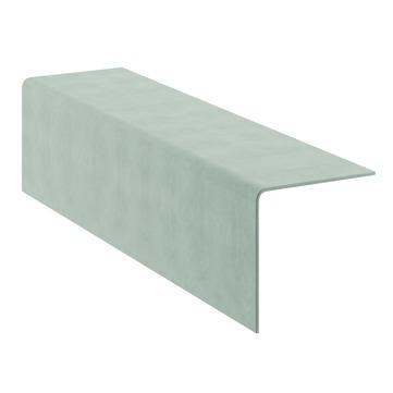 Cembrit Einfacher Giebelwinkel 2000 90 Grad 025 300x300x2000 mm Pastellgrau
