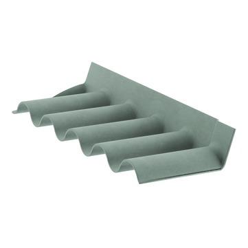 Cembrit Maueranschlussstück B55 B55 055 300x150x918 mm Dunkelbraun
