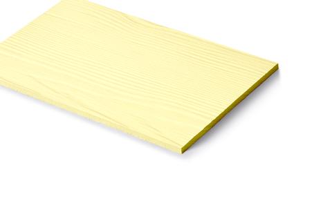 Cembrit Cembrit Plank 3600x180x8 mm CP510c Zedern Optik Hellelfenbein