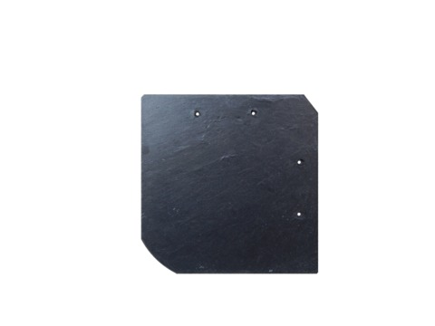 Böger (Theis) Schiefer Bogen 20x20 m universal Assulo gelocht Grube Assulo A10