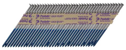 ITW Nagel 3,1x 90mm Unilock Im90 Nr.142072 2500 Nägel und 2 Brennstäbe Pakete im Karton Galvanisch plus