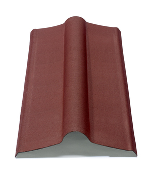 Onduline Onduline Firsthaube A100 100 cm lang Rot