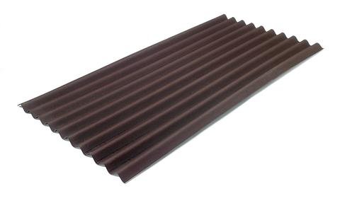 Onduline Onduline Classic Wellplatte 2000x 950x3,0 mm Braun