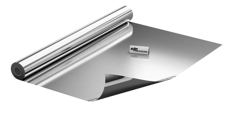 ALUJET Folie Reinalu 0,03 mm 1x100 m 1000 mm breit Alufarben