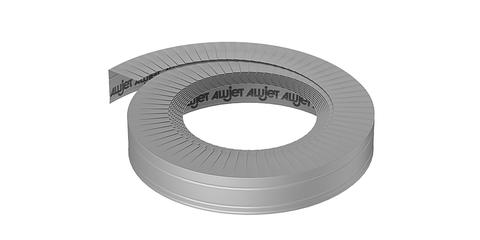 ALUJET Endmanschette 80mm 10m seitlicher Abschluss Grau
