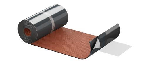 ALUJET Fixroll 3D 300 mm 5 m/Rolle Wand- und Kaminanschluss Rot